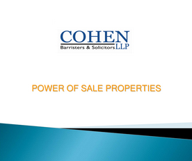 power of sale properties in Toronto